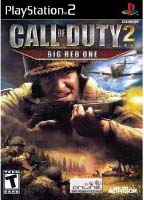 CALL OF DUTY 2 BIG RED ONE PLATINUM (PS2)