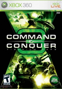 Command and Conquer 3: Tiberium Wars - xbox 360