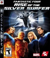 FANTASTIC 4 & Silver Surfer  - PS3
