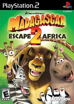 Madagascar: Escape 2 Africa - PS2