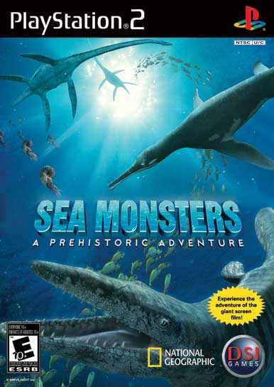 SEA MONSTERS AVENTURE - PS2