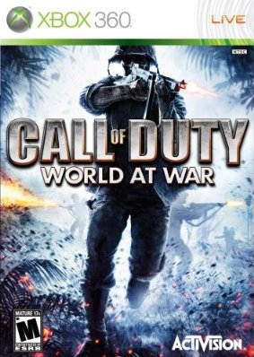 Call of Duty 5 : World at war - Xbox 360