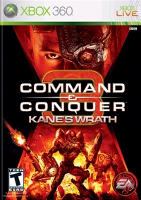 Command and Conquer 3: Kanes Wrath - xbox 360