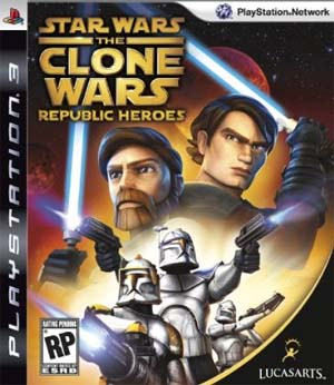 Star Wars: The Clone Wars Republic Heroes (PS3)